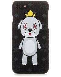 MCM Iphone 7 Eddie Kang Case - Black