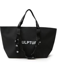 Off-White c/o Virgil Abloh Commercial Small Tote Bag - Black