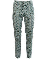 Prada Printed Pants - Green