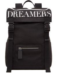 Valentino Vlogo Dreamers Backpack - Black