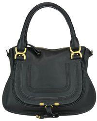 Chloé Marcie Shoulder Bag - Black