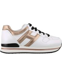 Hogan - H222 Leather Sneakers - Lyst