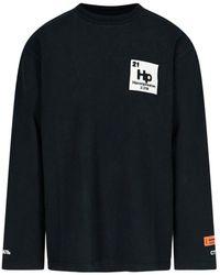 Heron Preston Logo Patch Sweatshirt - Black