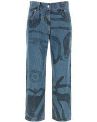 KENZO K-tiger Jeans - Blue