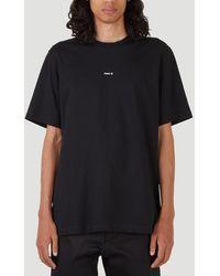 OAMC Graphic Printed T-shirt - Black