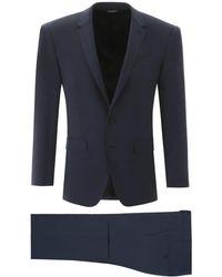 Dolce & Gabbana Dolce & Gabbana Martini 2-piece Suit - Blue