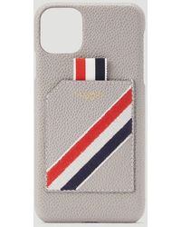 Thom Browne Iphone 11 Pro Case - Gray
