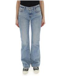 Current/Elliott Classic Bootcut Jeans - Blue