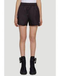 Prada Re-nylon Gabardine Shorts - Black
