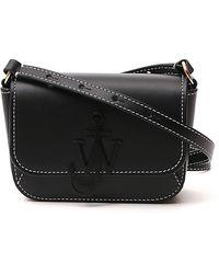 JW Anderson Nano Anchor Crossbody Bag - Black