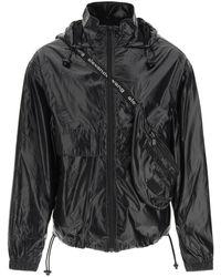 Alexander Wang Nylon Jacket With Integrated Belt Bag - Black