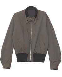 Lemaire Reversible Bomber Jacket - Gray