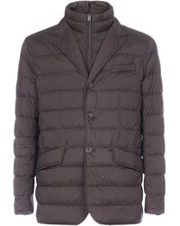 Herno Quilted Down Jacket - Brown