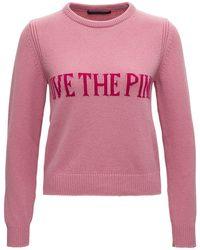 Alberta Ferretti Live The Sweater - Pink