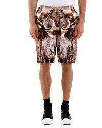 Burberry Printed Bermuda Shorts - Multicolor