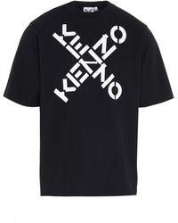 KENZO Big X T-shirt - Black