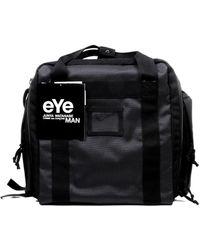 Junya Watanabe Contrast-trim Zipped Backpack - Black