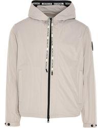 Moncler Drawstring Hooded Jacket - Natural