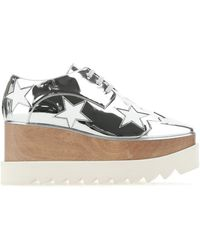 Stella McCartney Elyse Platform Sneakers - Metallic