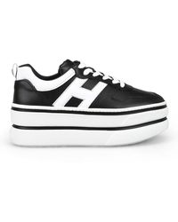 Hogan H449 Sneakers - Black