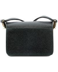 Marni Sbmp0079u0lv520z360n Other Materials Shoulder Bag - Black