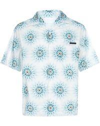 Prada Printed Shirt - Blue