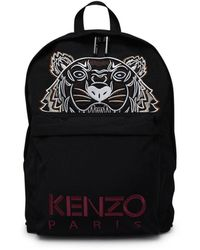 KENZO Zaino Tigre Nero - Black