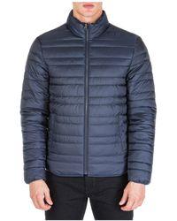 Michael Kors Men's Outerwear Jacket Blouson Reversibile - Blue