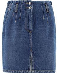 MSGM Skirt - Blue
