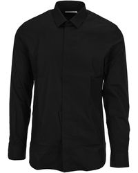 Saint Laurent Yves Collar Shirt - Black