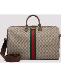 Gucci Ophidia GG Large Carry-on Duffle Bag - Natural