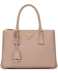 Prada Galleria Tote Bag - Pink