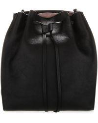 JW Anderson Drawstring Bucket Bag - Black