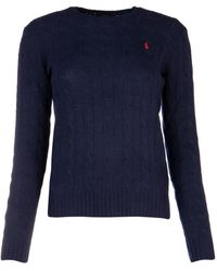 Polo Ralph Lauren Cable Knit Sweater - Blue