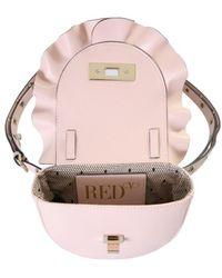 RED Valentino Rock Ruffles Xl Shoulder Bag - Pink
