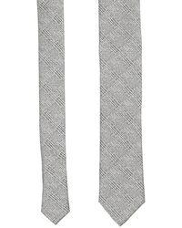 Dolce & Gabbana Dolce & Gabbana Tartan Silk Tie - Grey