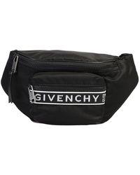 Givenchy 4g Logo Band Belt Bag - Black