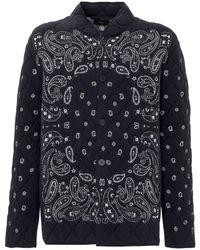 Alanui Fastwash Embellished Jacket - Blue