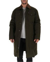 DSquared² Button-up Parka - Green