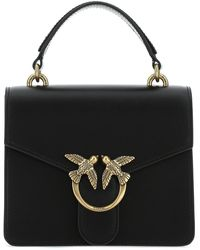 Pinko Love Bag Mini Top-handle Bag - Black