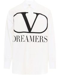 Valentino Vlogo Shirt - White