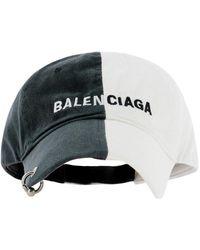 Balenciaga 50/50 Baseball Cap - Multicolor