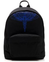 Marcelo Burlon Pictorial Wings Backpack - Black