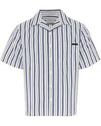 Prada Striped Shirt - Blue