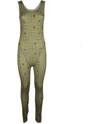 Maisie Wilen Revenge Body Catsuit - Green