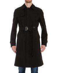 Alexander McQueen Belted Trench Coat - Black