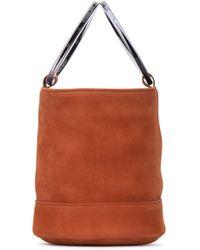Simon Miller Medium Bonsai Bucket Bag - Red