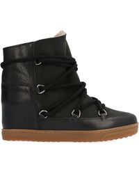 Isabel Marant Nowles Snow Boots - Black