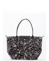 Longchamp Le Pliage Neo Large Shoulder Bag - Black