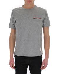 Thom Browne Pocket Detail Crewneck T-shirt - Grey